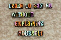 N'apprenez non à croire le caractère d'honnêteté illustration libre de droits