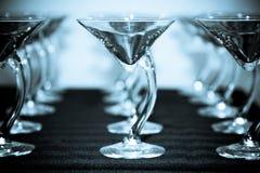 någon utsmyckade martini Arkivfoto