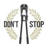 N'arrêtez pas Images libres de droits