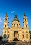 ¡ N Bazilika Szent Istvà stockbild