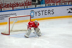 n Bespalov ( 31) sul portone Fotografie Stock