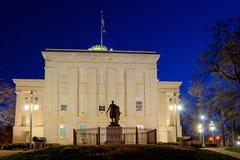 N.C. Het Kapitaal van de staat, het Gazon van het Zuiden stock afbeelding