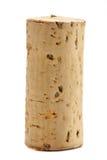 Één Cork van de Wijn Stock Afbeeldingen