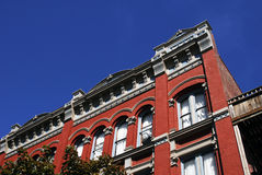 N.D. Hügelgebäude Lizenzfreie Stockfotos