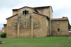¡ N de los Prados, Oviedo, Espagne de San Julià Images stock