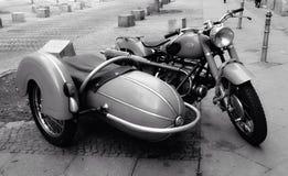 ³ n de Motocicleta Antígua de coleccià Fotografia de Stock