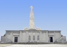 ³ n de Sagrado Corazà del monumento Foto de archivo