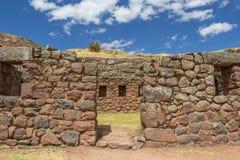 ³ n de Tipà da atração, Peru Foto de Stock