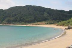 ³ n del Concha, de Mañà de DA del Praia, un Coruña y x28; España y x29; foto de archivo libre de regalías
