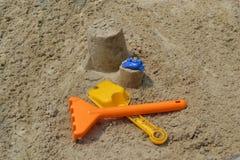 ¾ n del gioco Ð la sabbia Immagini Stock Libere da Diritti