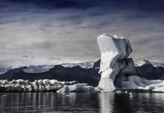 ³ n del rlà del ¡de JökulsÃ; lago glacial Fotos de archivo libres de regalías