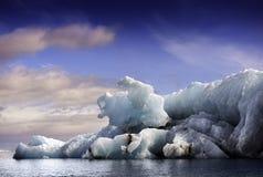 ³ n del rlà del ¡ di JökulsÃ; lago glaciale fotografie stock libere da diritti