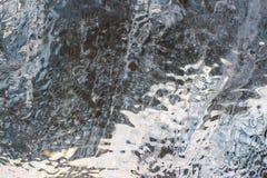 ³ n del rlà del ¡ di JökursÃ: la spiaggia di icerber, di ghiaccio e di freddo Immagine Stock Libera da Diritti