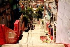 ³ n di Escadaria Selarà in Rio de Janeiro fotografia stock libera da diritti