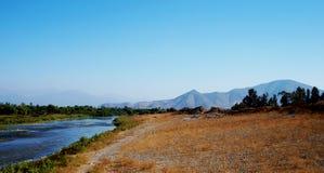 ¡ N do volcà de RÃo - vulcão do rio Fotos de Stock Royalty Free