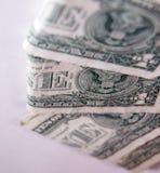 Één Dollar Royalty-vrije Stock Foto's