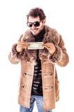 Één dollarrekening Royalty-vrije Stock Foto