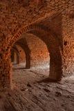 ½ n för fästningTerezï ¿ Arkivbild