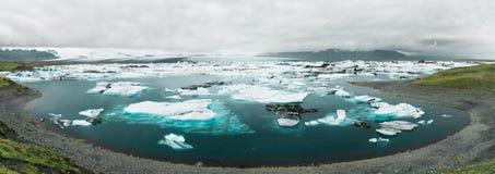 ³ n för rlà för isländskaJökulsà ¡ Royaltyfri Bild