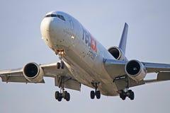 N574FE: Fedex McDonnell Douglas MD-11F fotografia stock libera da diritti