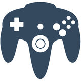 N64 gry kontroler Zdjęcie Royalty Free