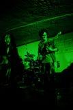 ³ n/Guitarman accià en Guitarrista получая серьезный Стоковое Фото