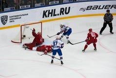 N. Gusev (97) score Royalty Free Stock Images