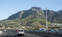 N2huvudväg Cape Town Sydafrika Arkivfoton