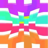 Nękanie kwadrata wzór kolorowy Zdjęcia Stock