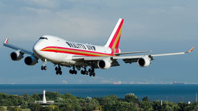 N403KZ Kalitta Air, Boeing 747-400F royalty-vrije stock afbeelding
