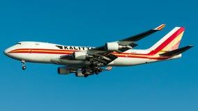 N402KZ Kalitta Air, Boeing 747-400F Royaltyfri Foto