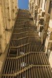 ³ n La Habana de Girà de la construcción de viviendas de la escalera Foto de archivo libre de regalías