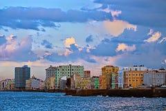 ³ n, La Havane de Malecà Photo stock