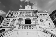 N old building of East Asiatic in Thailand. Royalty Free Stock Images