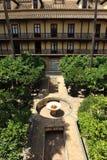 ³ n, palacio de Casa de la Contratacià del Alcazar en Sevilla, España Foto de archivo libre de regalías