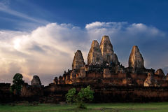 N Phnom Bakheng, Seaham-Mûr, Cambodge Photographie stock