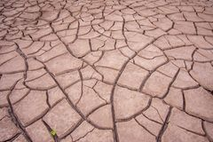 N?rbildfoto av torr jord arkivfoton