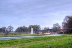 N375 richting Eursinge Royalty-vrije Stock Foto