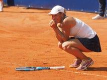 Nuremberg, Germany - May 25, 2019: Kazach tennis player Yulia Putintseva winning the final at the Euro 250.000 WTA