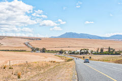 N2-Road entre Caledon e Botrivier Imagem de Stock
