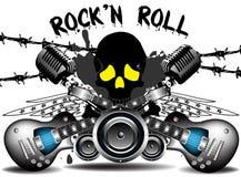 n-rockrulle Arkivbilder