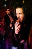 n-rockrulle arkivfoto