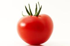 Één rode tomaat Royalty-vrije Stock Afbeelding