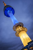 N Seoul Tower Royalty Free Stock Photography