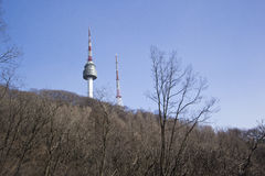 N Seoul Tower Stock Photo