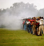 N-SSA Shooter. North South Skirmish Association Royalty Free Stock Photography