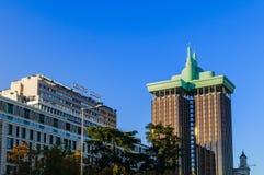 ³ n Torres de Colà Gebäude in Madrid Stockfotografie