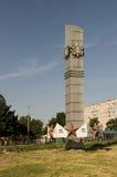 Één van de monumenten in Chernigiv Stock Afbeelding