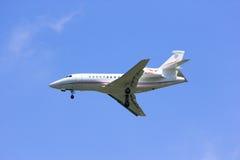 N28VL Aviões privados, falcão 900EX de Dassault imagens de stock