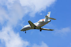 N28VL. Private AIrcraft, Dassault Falcon 900EX. Stock Photography
